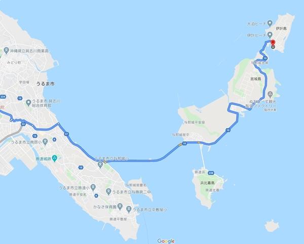 沖縄本島中部ドライブ