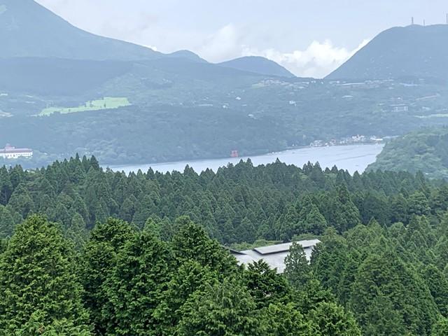 【道の駅】トイレの裏側からの景色が最高「箱根峠」