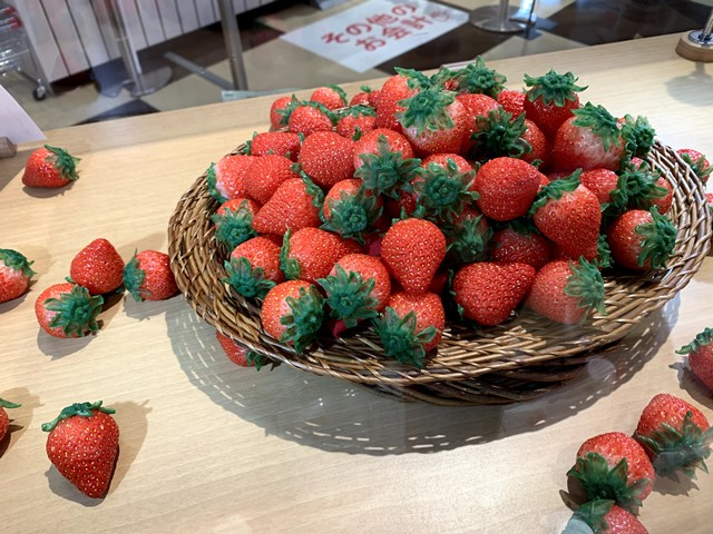 【道の駅】伊豆半島の真ん中「伊豆のへそ」はイチゴが満載