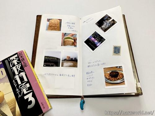 旅の絵日記として使う