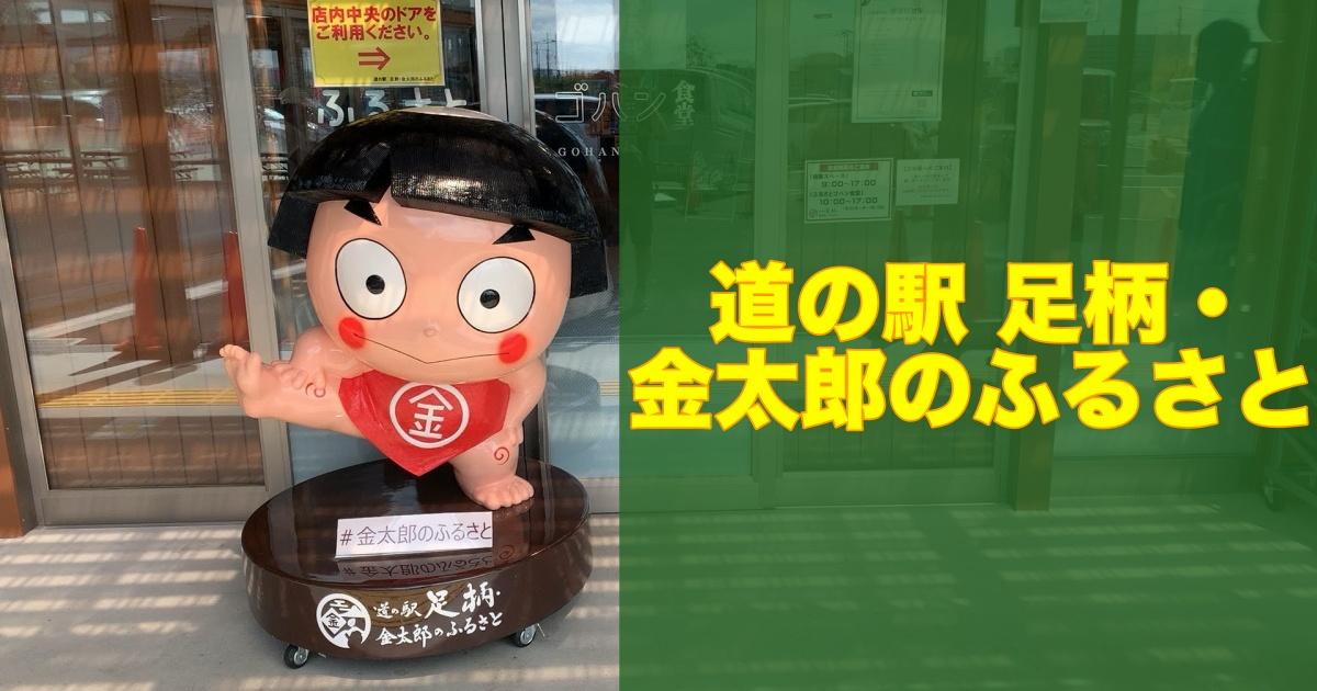 神奈川県第4の道の駅、足柄は金太郎のふるさと